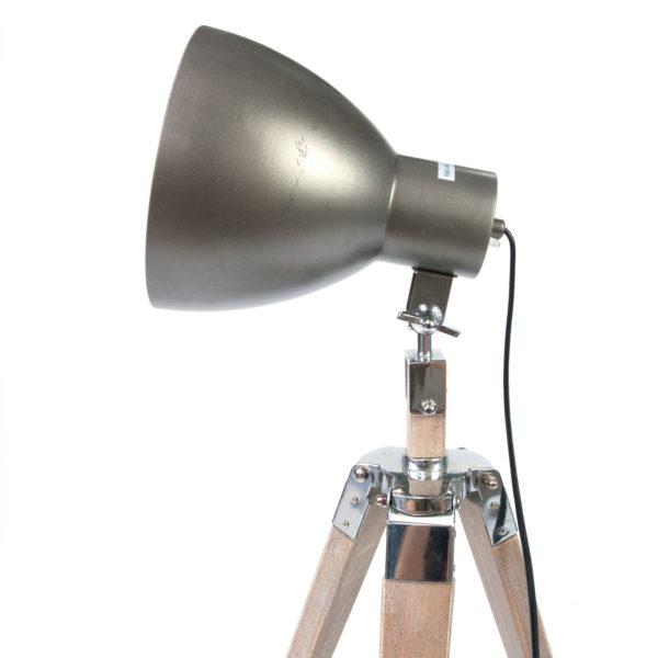 Modern Metal Floor Lamp: Adjustable Contemporary Modern Metal Floor Lamp With Solid
