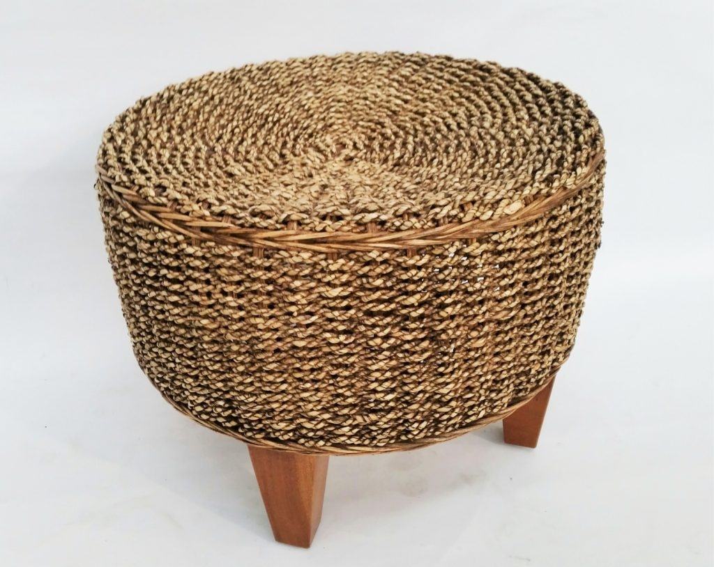 Round Rattan Woven Stool G Amp D Home Quality Furniture